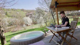 🏕 ☀️🎶 . . . #musicproducer #musicproduction #mobile #musicstudio #maribor #slovenia #headphones #studiovibes #modern #contemporary #vibes #epic #trailermusic #hybrid #pop #piano #producerlife #camping #pool