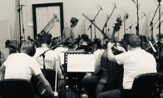 Cooking trailer scores 🍳 🎶 #behindthescenes #music #orchestral #recordingsession #budapest #live #strings #ensemble #trailermusic #instamusic #instagood #vibes #epic